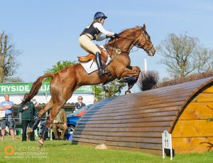 Pippa Funnell and REDESIGNED - The cross country phase of the Mitsubishi Motors Badminton Horse Trials, Sunday May 5th 2013