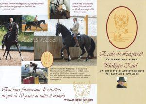 Quando la sensibilità fa la differenza - Intervista a Monsieur Philippe Karl - Ecole de Légèreté