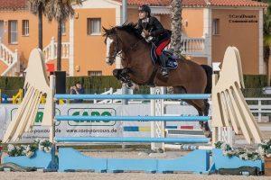 Filippo Bologni al MET1 di Oliva Nova: rilevanti piazzamenti nelle gare Longines Ranking 4