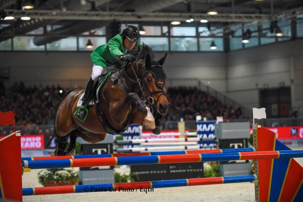 Gianni Govoni Ha Vinto La 155 A Salisburgo Amadeus Horse Indoors