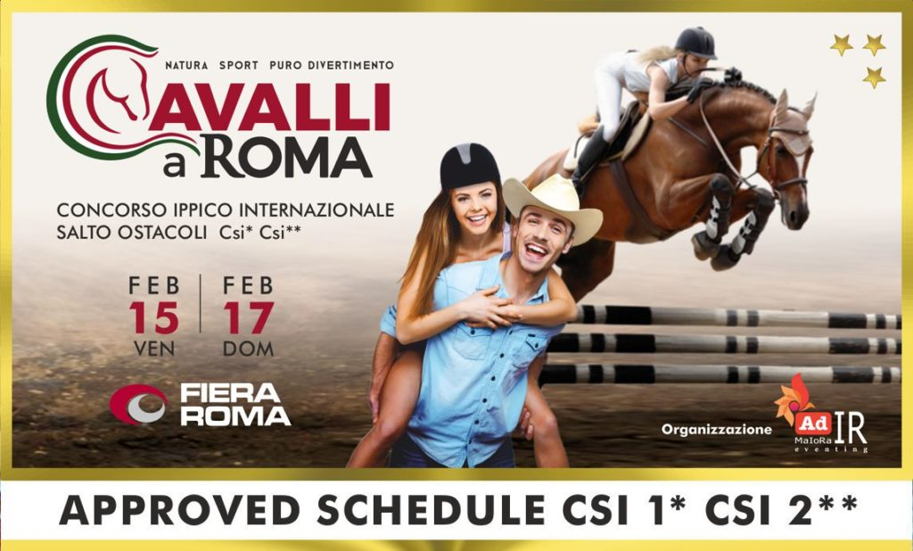 Ricco programma per Cavalli a Roma 2019: scopri!