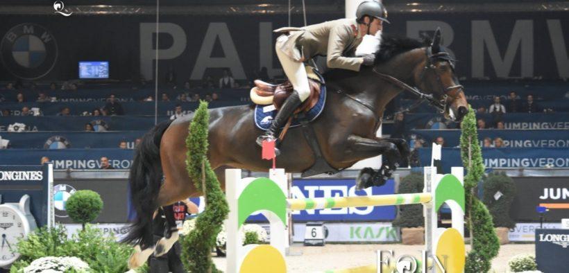 Alberto Zorzi con Danique 2° a Doha