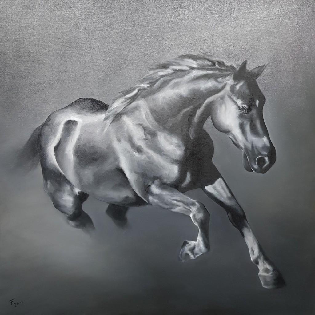 I cavalli nei dipinti di Francesca Provetti: due passioni che s'incontrano 3