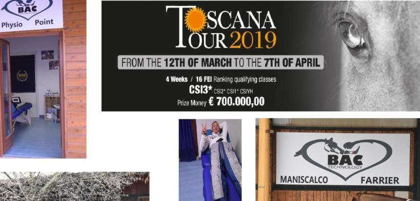 Physio Point BAC Technology al Toscana Tour 2019 2