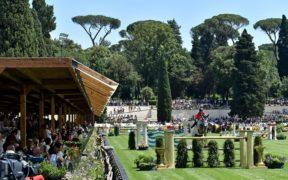 """Piazza di Siena, aspettando lo CSIO: """"terreno perfetto"""" (Uliano Vezzani)"""