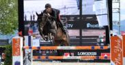 Nuovo trionfo per Gaudiano con Carlotta nella Longines Speed Challenge