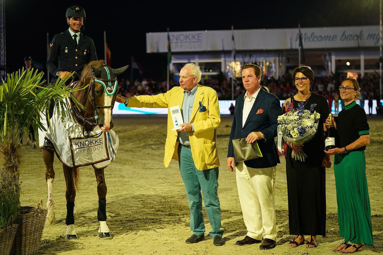 Splendida vittoria di Lorenzo de Luca con Halifax al Knokke Hippique 1