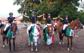 Argento all'Italia ai Mondiali Pony di Lamotte Beuvron (FR)