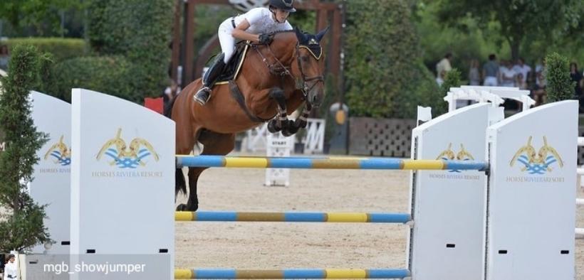 E' di Matilde Bianchi la vittoria del Gran Premio all'Horses Riviera Resort