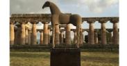 Il Cavallo di Sabbia di Mimmo Paladino torna a Paestum 1