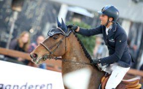 Luca Moneta in terza piazza nel Prix Covea (LR) / Jumping de Valence
