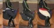 ISES informa: aumento di peso e asimmetrie in sella incidono su andatura e comportamento del cavallo