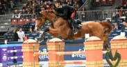 Jumping Verona, Emanuele Gaudiano vince il Premio Kask (h 155)