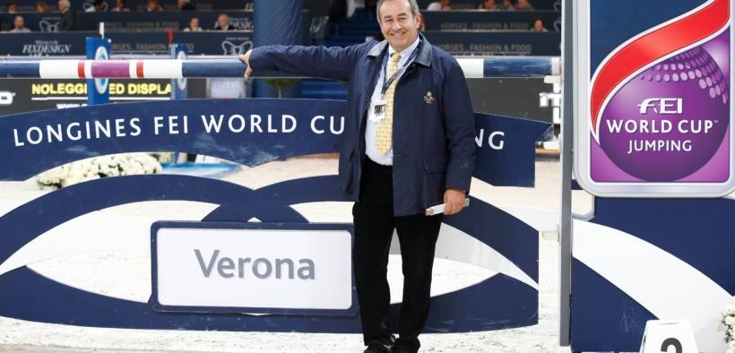 Jumping Verona, la parola allo Chef de Piste Uliano Vezzani