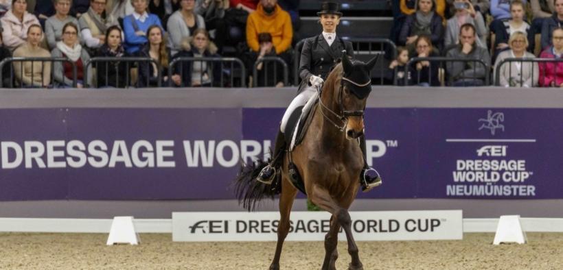 Coppa del Mondo Dressage: Jessica von Bredow-Werndl e Dalera trionfano a Neumünster