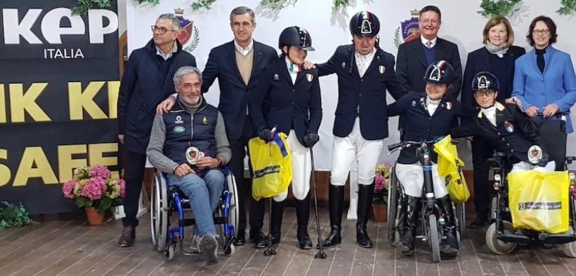 Paradressage: la squadra italiana stacca il biglietto per Tokyo 2020 e vola alle Paralimpiadi