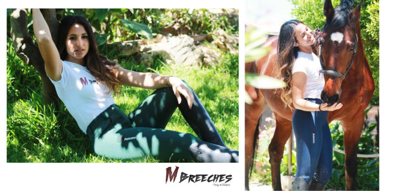 Scopri i pantaloni tecnici da equitazione M BREECHES 5