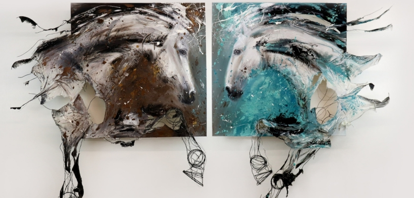 Quando l'equitazione incontra l'arte