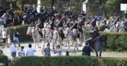 """Piazza di Siena, """"tutti in sella"""" tra Arte e Sport"""