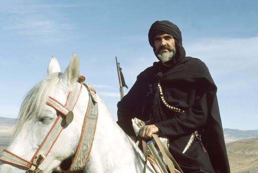 Sean Connery: un attore molto equestre 1