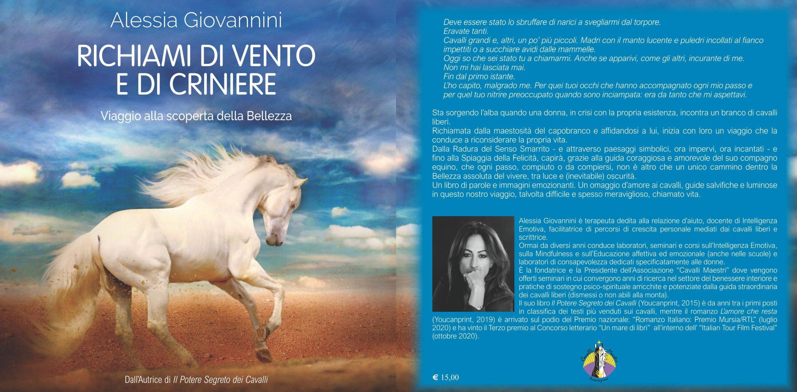 """""""Richiami di vento e di criniere"""", il nuovo libro di Alessia Giovannini"""
