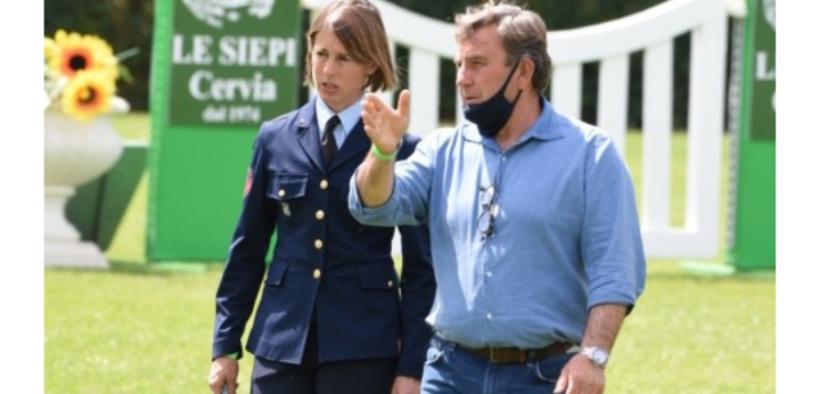 Da Cervia un'altra medaglia per Giulia Martinengo Marquet : è d'Oro!